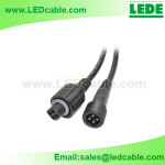 WDC-02M Mini Connector LED Waterproof Power Cable