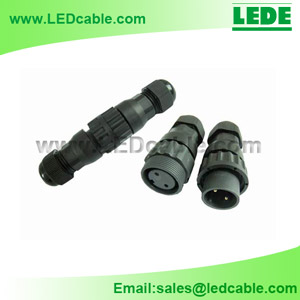 LWC-02: 2 Pin IP68 Waterproof Connector