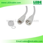 WDC-03B: 3 Pin LED Lighting Waterproof Connector Wire