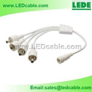 DC-10A: Waterproof DC Power Splitter