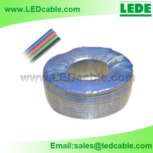 LSW-B1: Bulk RGB extension wire for LED Strip
