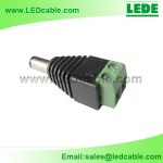 DCC-01: DC Plug with Screw Mount
