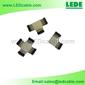 LSW-04: Flexible LED Strip T Type Connector
