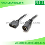LSW-09: LED RGB Strip Cable With DC Plug Connector