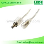 DC-09B: LED Strips Lighting Waterproof DC Power Cable