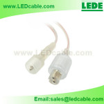 WDC-02E: 2 Pin Waterproof Power Cable For LED Light Bar