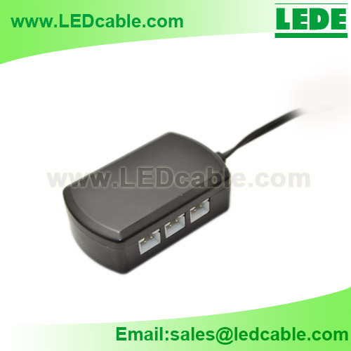 JB-03: 6 Way Plug And Play LED Junction Box