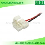 LSW-14: Plastic Solderless connector wire For Single color LED Strip