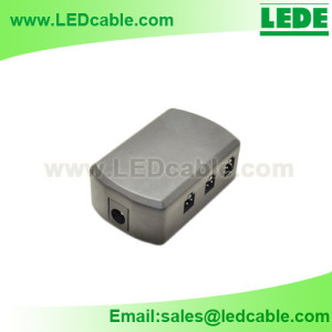 JB-01:LED Junction Box with DC Socket