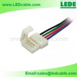 LSW-15: Plastic Solderless connector wire For RGB LED Strip