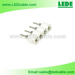 LSC-03F:LED Strip 4 Pin Male to Female Connector