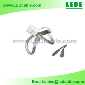 DC-10D: Waterproof 2 Pins Connector with Solderless Connector For LED Strip