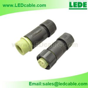 LWC-05: IP68 Waterproof Power Cable Connector