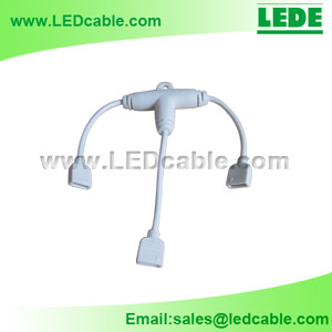 LSW-10: RGB LED Strip 4 Pins T Type Cable