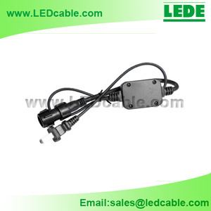 LRW-03: 3 Wires Power Cord for LED Rope Light