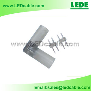 LRC-02A: L Type Connector for Rope Light