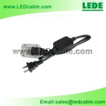 LRW-04: RGB LED Rope Light 4 Wire Power Cord