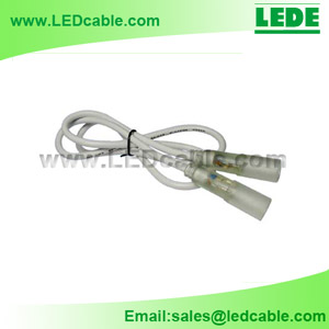 LRW-02C: Rope-to-Rope Extension Cable for 2 Wire Rope Light