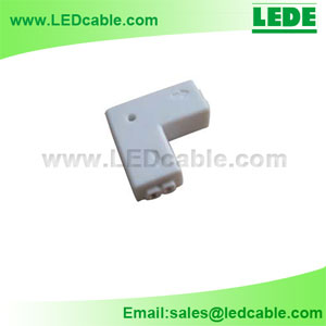 LSC-02B:2 Pin LED Strip L Type Connector