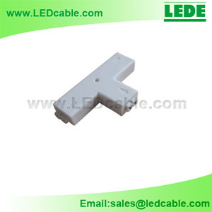 LSC-02C:2 Pin LED Strip T Type Connector