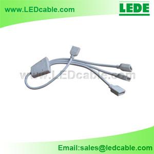 LSW-11: LED Strip 4 Pin Splitter