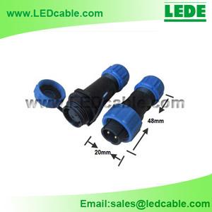 LWC-11: Mini IP68 Waterproof Circular Connector