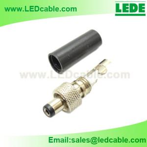DCC-08: DC Plug with Screw Locking