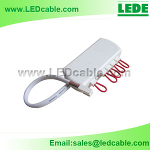 JB-04: 6 Ports LED Junction Box