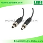 DC-04K: DC Power Cord with Locking plug