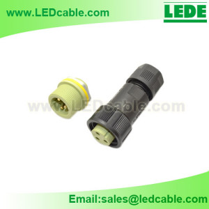 LWC-06: IP68 Panel Mount Waterproof Connector