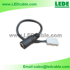 DC-11N: DC Power To Solderless LED Strip Connector Cable