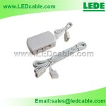 JB-05:RGB LED Strip Distributor 4-way Junction Box