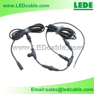 Outdoor LED DMX Lighting Project T Splitter Kits