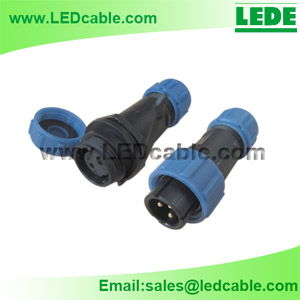 LWC-10: IP68 Waterproof Cable Circular Connector