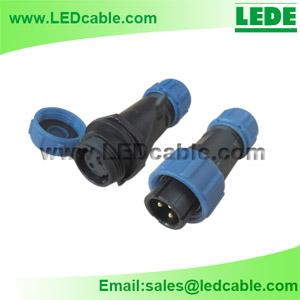 LWC-10: IP68 Waterproof Cable Circular Connector