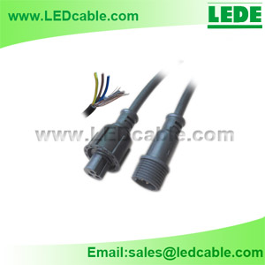WDX-04: Waterproof DMX Extension Cable