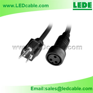 WDC-11: Waterproof Power Cable For LED Lighting