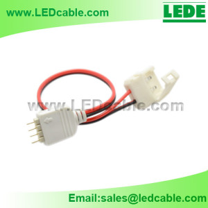 LSW-20:Single Color LED Strip to Controller Connection Cable