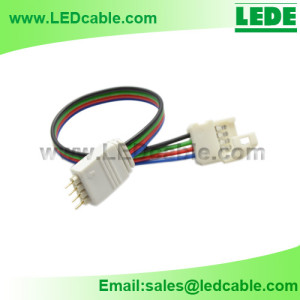 LSW-19: RGB LED Strip to Controller Connection Cable