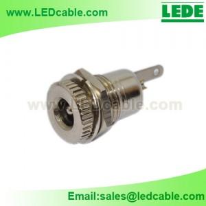 DCC-09C: Copper DC Power Coaxial Jack Socket