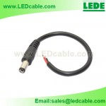 DC-02A: DC Male Power Pigtail For LED Lighting