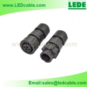 LWC-15: Mini IP67 Waterproof Cable Connector