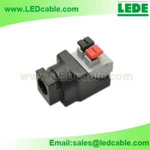 DCC-02C: New Easy DC Female Connector For LED lighting