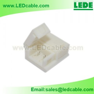 LSW-21:Solderless Connector For IP65 Waterproof Single color LED Strip