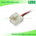 LSW-23:Solderless Connector Wire For IP65 Waterproof Single color LED Strip