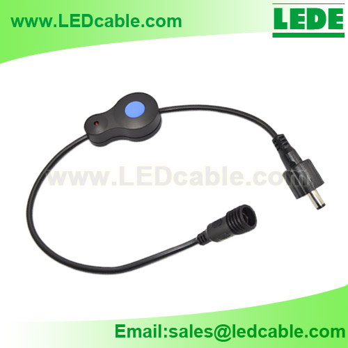 DC-18:12V Waterproof Inline On/Off Switch