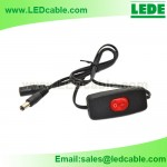 DC-16: 12V In-Line On/Off Switch with LED Indicator