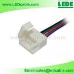 LSW-24:Solderless Connector Wire For IP65 Waterproof RGB LED Strip