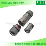 LWC-16: IP67 Weatherproof Cable Connector, Screw Type