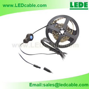 Waterproof Inline Switch Power Cable Kits for Outdoor LED Lighting